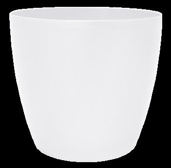 Вазон Матильда 24х22 см молочный