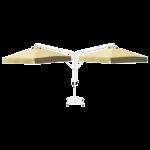 Зонт Banana Classic двухкупольный квадратный 3,5 х 3,5 м *2