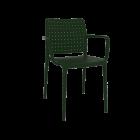 Кресло Papatya Fame-K темно-зеленый