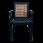 Кресло пластиковое Мимоза зеленое