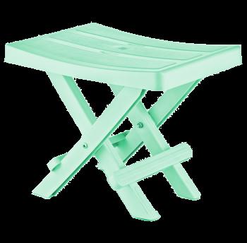Табурет складной 35x25x28 см зеленый Irak Plastik