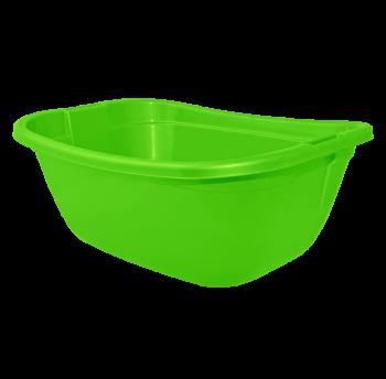 Таз прямоугольный 22л зеленый