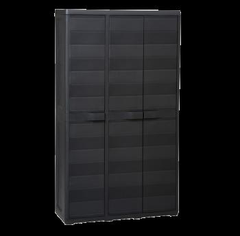 Шкаф 3-х дверный Elegance S Toomax черный