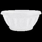 Горшок пластиковый с подставкой Жанна подвесной 28,5х18,5 см белый флок
