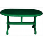 Стол овальный большой 825 NР зеленый 880 грн