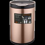 Сенсорное мусорное ведро JAH 20 л круглое розовое золото без внутреннего ведра