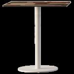 База стола Lotus Round d30x50 см белая Papatya