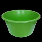 Таз круглый пищевой 20 л зеленый
