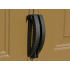 Сарай пластиковый StoreAll 245x168x220 см слоновая кость, коричневая крыша