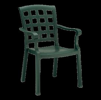 Крісло Papatya Паша зелений