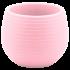 Горщик для квітів Colorful 0,55 л світло-рожевий