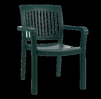 Крісло Papatya Містраль зелений