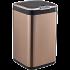 Сенсорное мусорное ведро JAH 7 л квадратное розовое золото с внутренним ведром