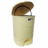 Ведро для мусора с педалью Irak Plastik Bella №3 30л желтый