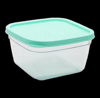 Контейнер пищевой 0,3 л прозрачно-бирюзовый