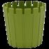 Горшок для цветов Akasya 1 л зеленый