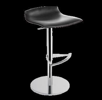 Барное кресло Papatya X-Treme B матовый черный