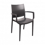 Кресло Irak Plastik Lara антрацит