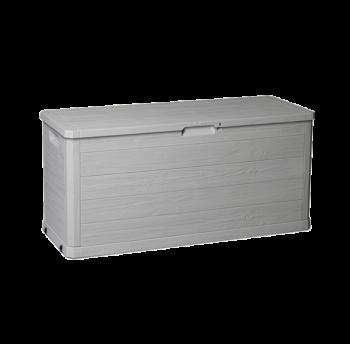 Скриня пластикова Woodys Lin 280 л тепла сіра Toomax