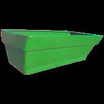 Грядка пластиковая 210 л зелёная