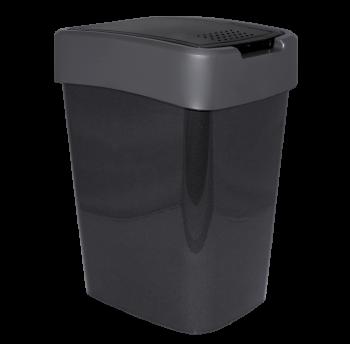 Ведро для мусора Евро 45 л (гранит - серый)