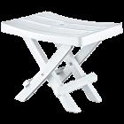 Табурет складаний 35x25x28 см білий Irak Plastik