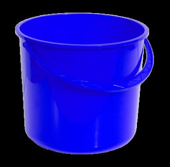 Ведро 8 л круглое синее
