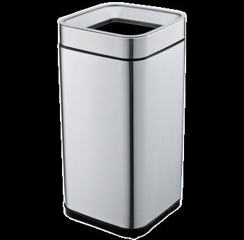 Відро для сміття JAH 15 л срібний металік без кришки і внутрішнього відра