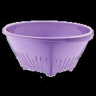 Дуршлаг овальный фиолетовый