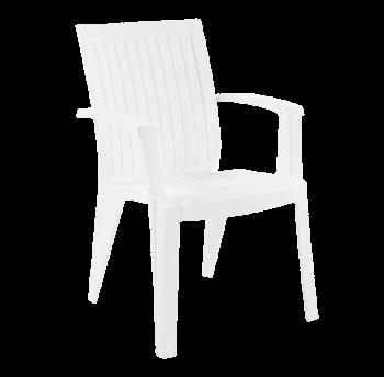 Кресло Papatya Ализе белый
