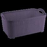 Корзина Flexi 10 л тёмно-фиолетовая