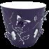 Горщик для квітів 3D 0,7 л темно-фіолетовий