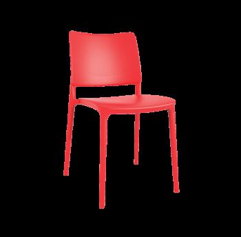 Стул Papatya Joy-S красный