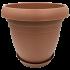 Горшок для цветов Nergiz 25 л коричневый