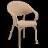 Кресло Tilia Flash-R кофейное