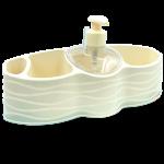 Органайзер для ванної та кухні Planet Welle кремовий