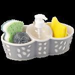 Органайзер для ванної та кухні Planet Stone сіро-кремовий