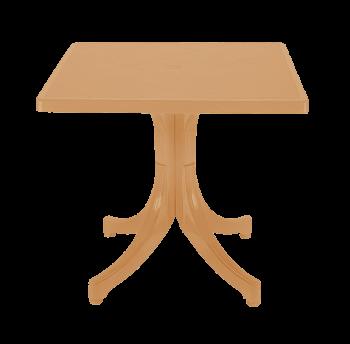 Стол квадратный Papatya Фавори 80x80 тик