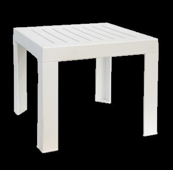 Столик для шезлонга Papatya SUDA 01 білий