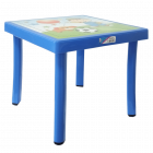 Стол детский декорированный 46,5x46,5 синий