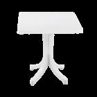 Стіл квадратний Papatya Фаворит 70x70 білий