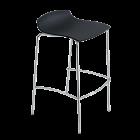 Барный стул Papatya X-Treme BSS матовый черный