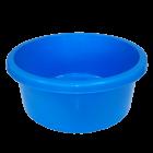 Таз круглый пищевой 6 л голубой