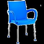 Кресло Irak Plastik Sumela алюминиевые ножки голубой