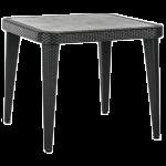 Стол Tilia Osaka 90x90 см ножки пластиковые черный