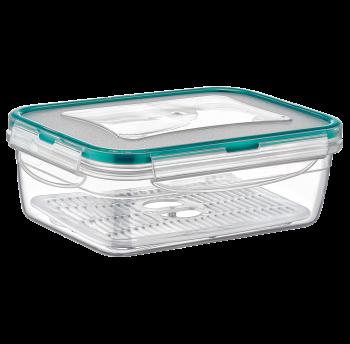 Контейнер Fresh Box прямоугольный 1,4 л прозрачный Irak Plastik