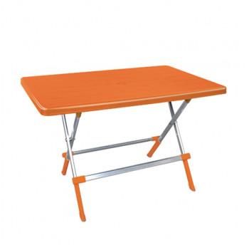 Стіл складаний Irak Plastik Omega 70x115 помаранчевий