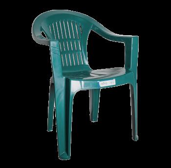 Кресло Irak Plastik Bahar EKO зеленое Уценка