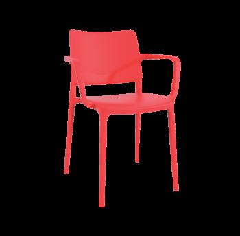 Кресло Papatya Joy-K красный