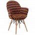 Кресло Tilia Gora-V ножки буковые, сиденье с тканью ARTNUVO 46094 - V6